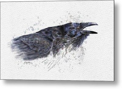 Raven 2 Metal Print