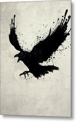 Raven Metal Print by Nicklas Gustafsson