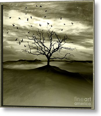 Raven Valley Metal Print by Jacky Gerritsen