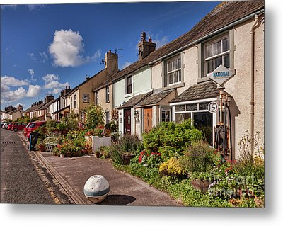 Metal Print featuring the photograph Ravenglass Cottages by Colin and Linda McKie