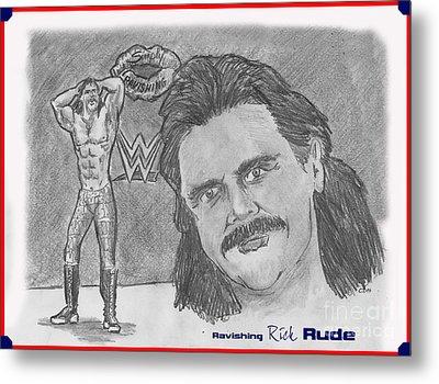 Ravishing Rick Rude Metal Print by Chris  DelVecchio