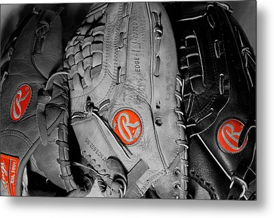 Rawlings In Red Metal Print by Jame Hayes
