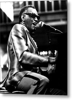 Ray Charles, Ca. 1980 Metal Print by Everett