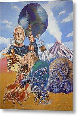 Ray Harryhausen Tribute The Mysterious Island Metal Print