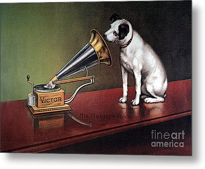Rca Victor Trademark Metal Print by Granger