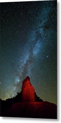 Metal Print featuring the photograph Reach For The Stars by Stephen Stookey