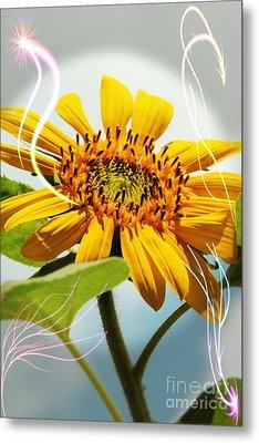 Reach For The Sun Metal Print by Lori Mellen-Pagliaro