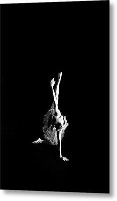Reaching Ballerina Metal Print by Scott Sawyer