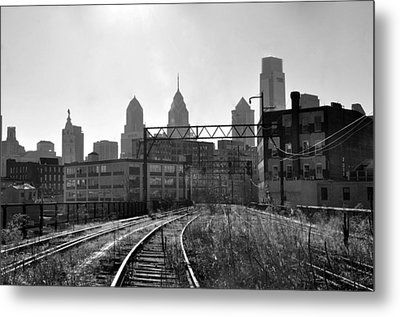Reading Aquaduct Metal Print