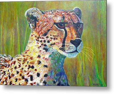 Ready For The Hunt Metal Print by Michael Durst