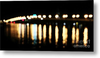 Bridge Of Lions -  Old City Lights Metal Print