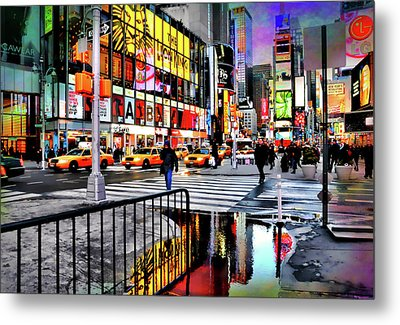Metal Print featuring the photograph Ready Or Not by Diana Angstadt