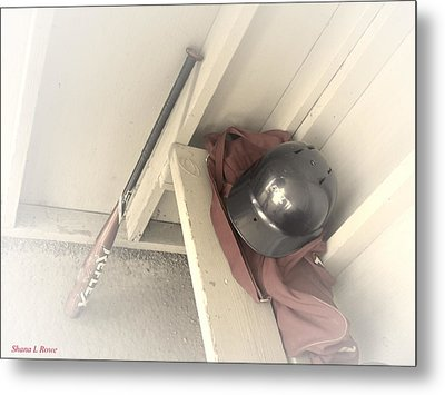 Metal Print featuring the photograph Ready To Bat by Shana Rowe Jackson