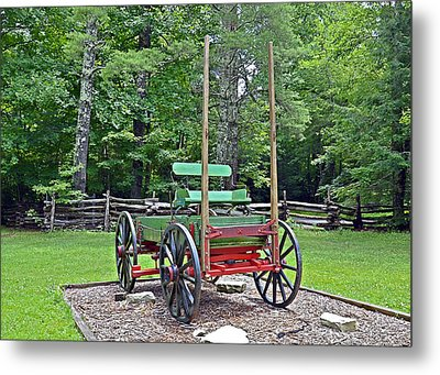 Ready To Hitch Metal Print by Susan Leggett