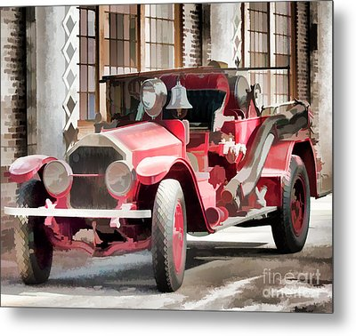 Ready To Serve Again Metal Print by Wilma Birdwell