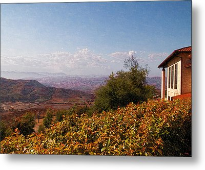 Reagan Library Overlook Metal Print by Glenn McCarthy Art and Photography