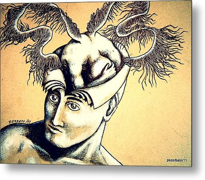 Realization Inner Self Of The Being Metal Print by Paulo Zerbato