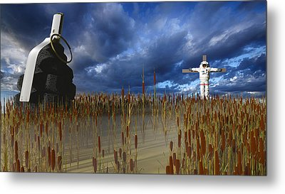 Reap What You Sow Metal Print by Brainwave Pictures