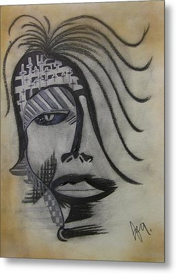 Rebel For God Metal Print by Jimmy King