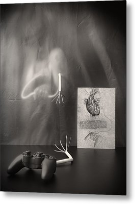 Rebel Heart Metal Print by Vito Guarino