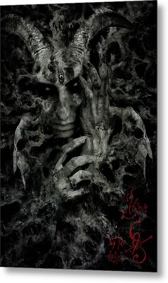 Rebirth Metal Print by Cambion Art