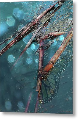 Rebirth Metal Print by Lauren Radke