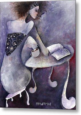 Recipies Book Metal Print by Maya Manolova