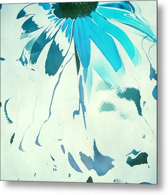 Reconstructed Flower No4 Metal Print by Bonnie Bruno