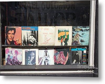 Record Store Burlington Vermont Metal Print by Edward Fielding