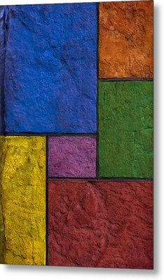Rectangles Metal Print by Don Gradner