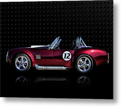 Red Cobra Metal Print by Douglas Pittman