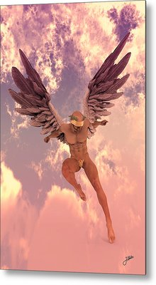 Red Currant Angel Metal Print by Joaquin Abella