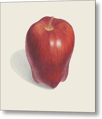 Red Delicious Apple  Metal Print