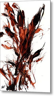 Red Flame 66.121410 Metal Print