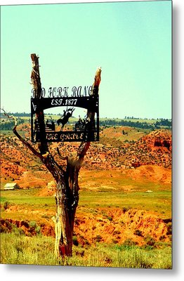 Metal Print featuring the photograph Red Fork Ranch by Antonia Citrino