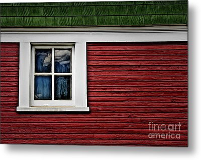 Metal Print featuring the photograph Red Green by Brad Allen Fine Art