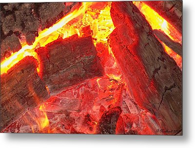 Metal Print featuring the photograph Red Hot by Betty Northcutt