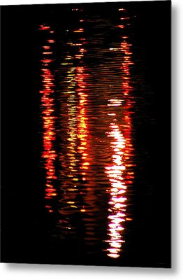 Metal Print featuring the photograph Red Light by David Dunham