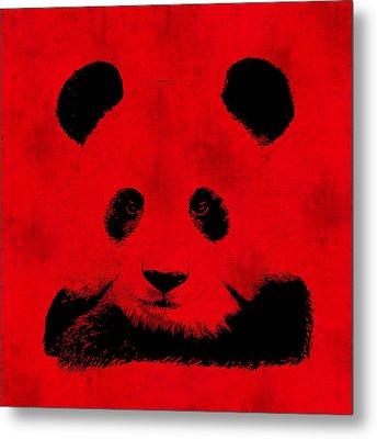 Red Panda Metal Print by Laura Brightwood