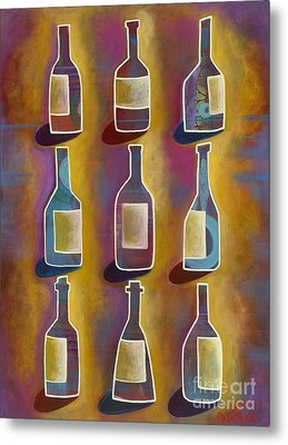 Red Red Wine Metal Print by Carla Bank