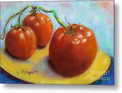 Red Ripe And Ready Metal Print