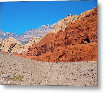 Red Rock Canyon Metal Print by Rae Tucker