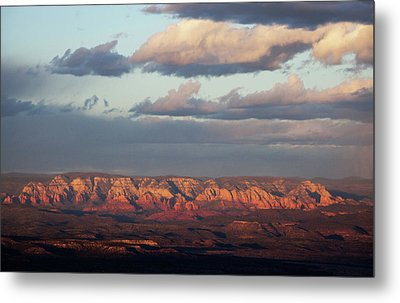 Metal Print featuring the photograph Red Rock Crossing, Sedona by Ron Chilston