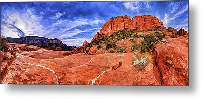 Metal Print featuring the photograph Red Rock Spirit 2 by ABeautifulSky Photography