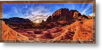 Metal Print featuring the photograph Red Rock Spirit by ABeautifulSky Photography