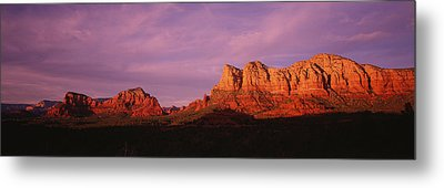 Red Rocks Country, Arizona, Usa Metal Print by Panoramic Images