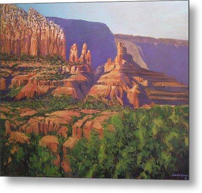 Red Rocks Sedona Metal Print