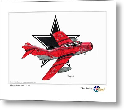 Red Ruskie Metal Print by Trenton Hill