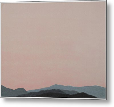 Red San Jacintos Metal Print