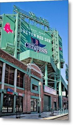 Red Sox 2013 Champions Metal Print